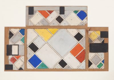 Galerie Gmurzynska - Stand 404 / Theo van Doesburg 'Color Design for Ceiling...'